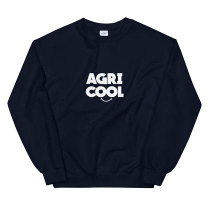 sweat agricool - vêtement agricole - bleu