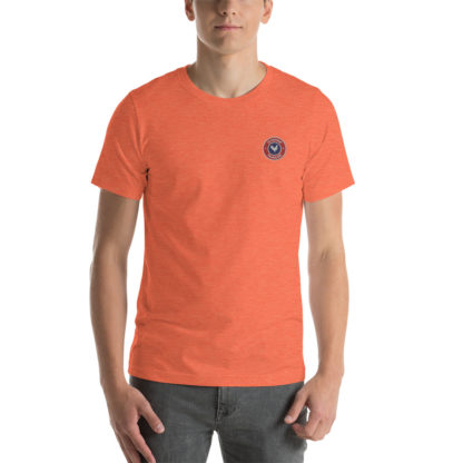 t-shirt agriculteur - le paysan français - orange