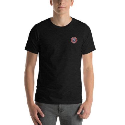t-shirt agriculteur - le paysan français - noir chiné