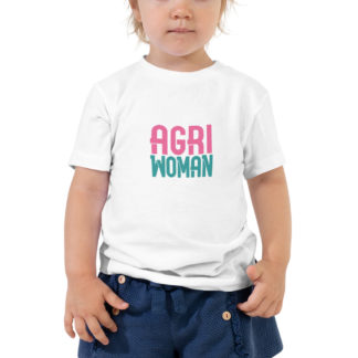 tshirt enfant - agriwoman - fille - blanc