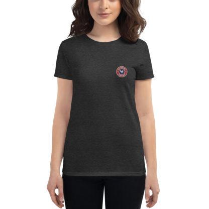 t-shirt agricultrice - la paysanne française - gris foncé