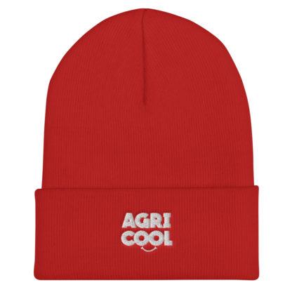 bonnet agricool - rouge