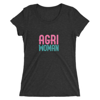 tshirt femme - agriwoman - noir