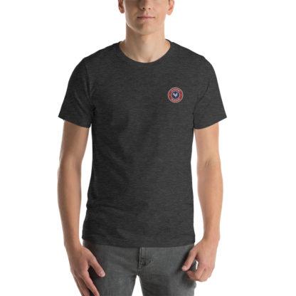t-shirt agriculteur - le paysan français - gris foncé