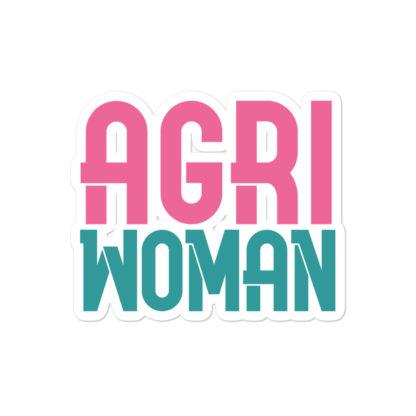 autocollant agriwoman 1