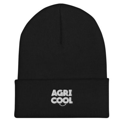 bonnet agricool - noir