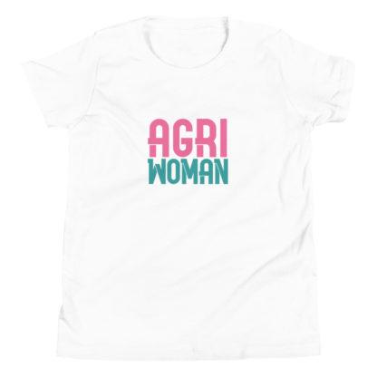tshirt ado - agriwoman - blanc