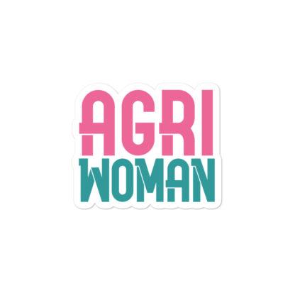 autocollant agriwoman 2