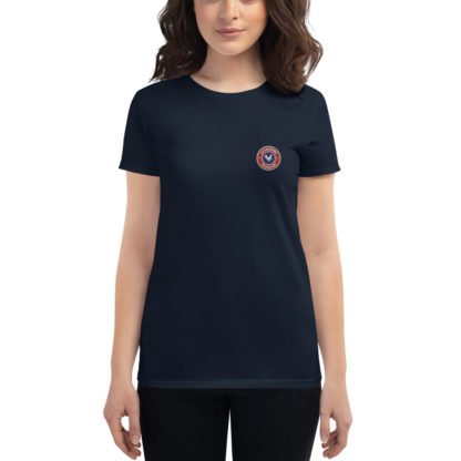 t-shirt agricultrice - la paysanne française - bleu navy