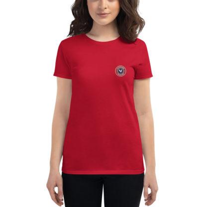 t-shirt agricultrice - la paysanne française - rouge