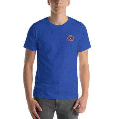 t-shirt agriculteur - le paysan français - bleu roi