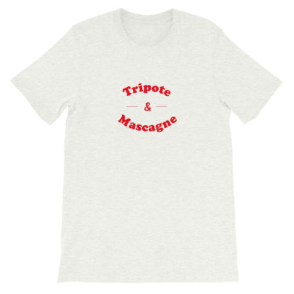 t-shirt - tripote et mascagne - sud ouest - cendre