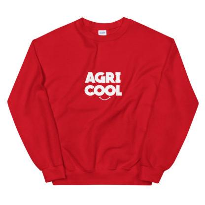 sweat agricool - vêtement agricole - rouge