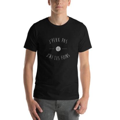 t-shirt agriculteur - j'peux pas j'ai les foins - homme