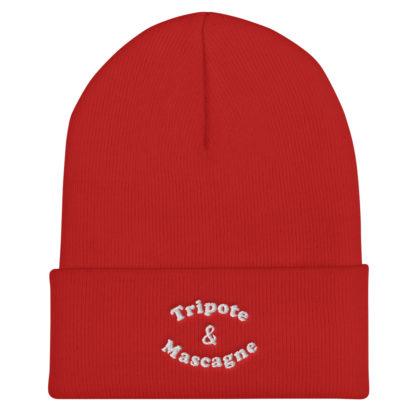 bonnet tripote et mascagne - rouge