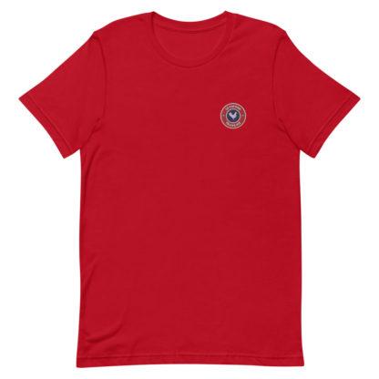 t shirt le paysan français rouge