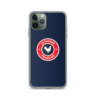 coque iphone le paysan français - 12