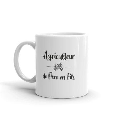 mug agriculteur de père en fils