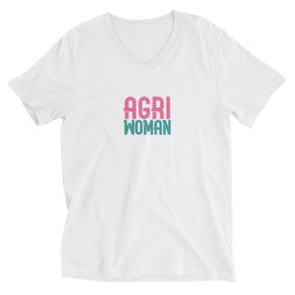 t-shirt-col-v-agriwoman-femme-blanc